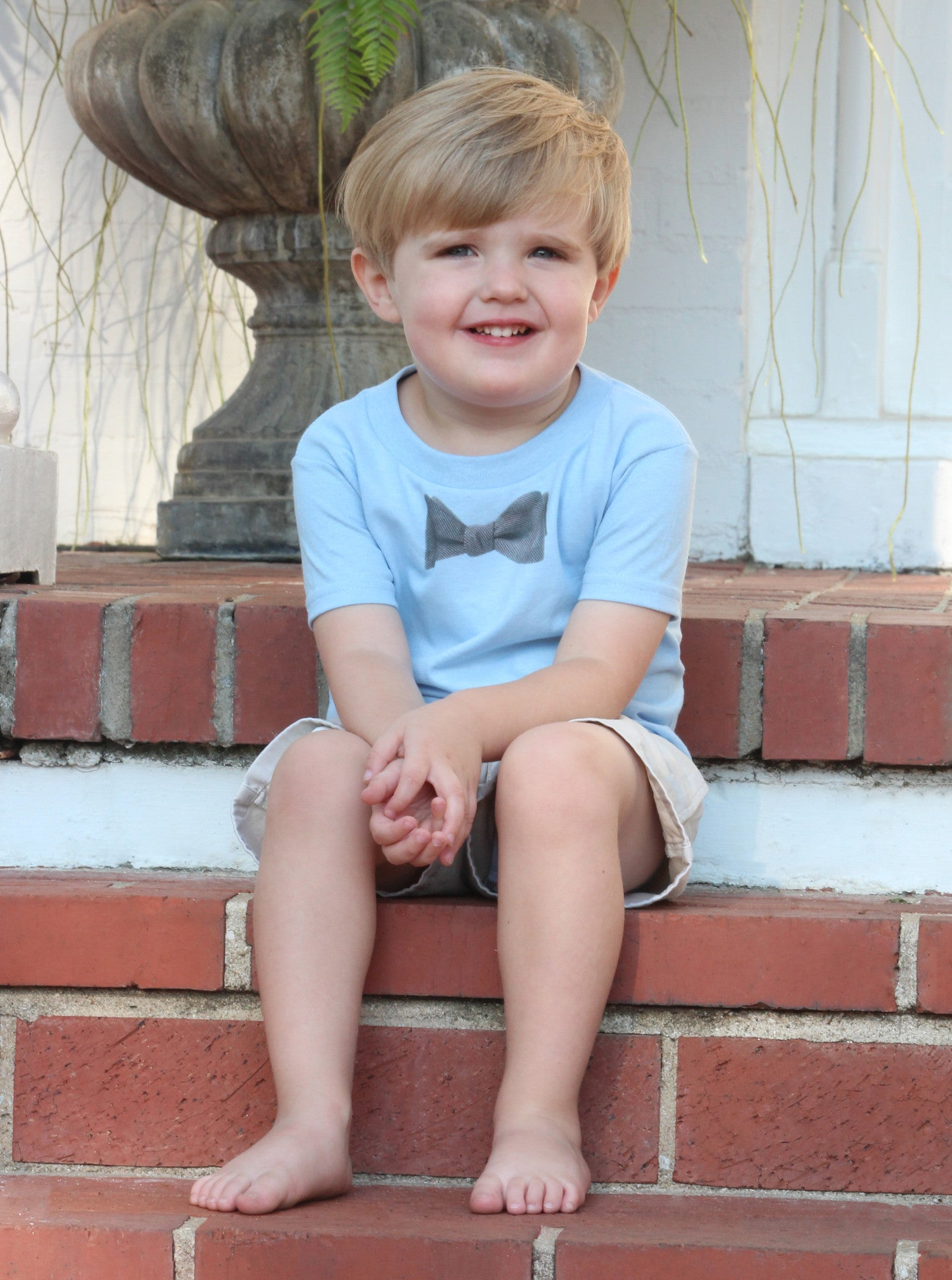 Toddler Bow Tie T-Shirt