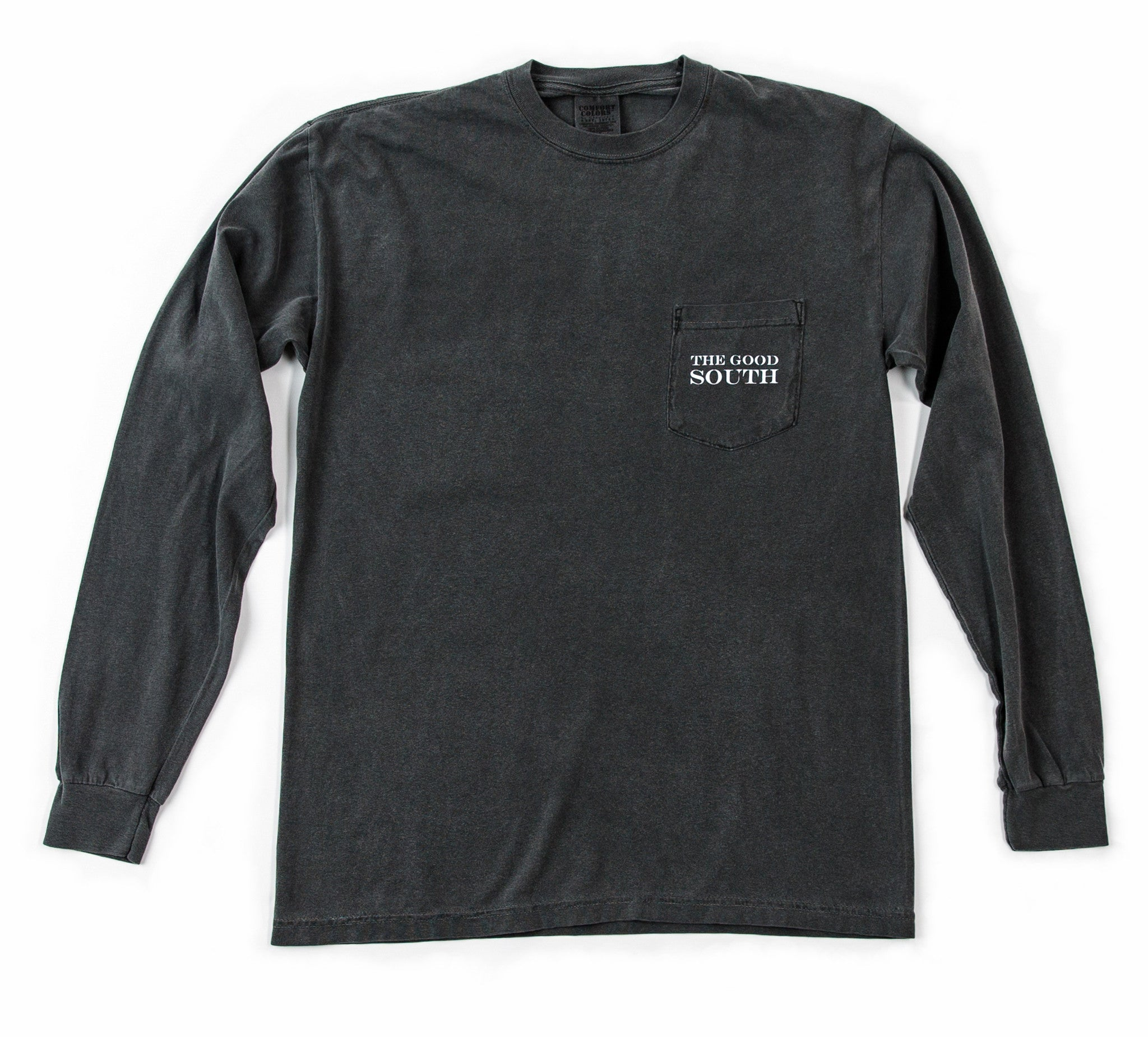 The Good South Long Sleeve T-Shirt: Pepper