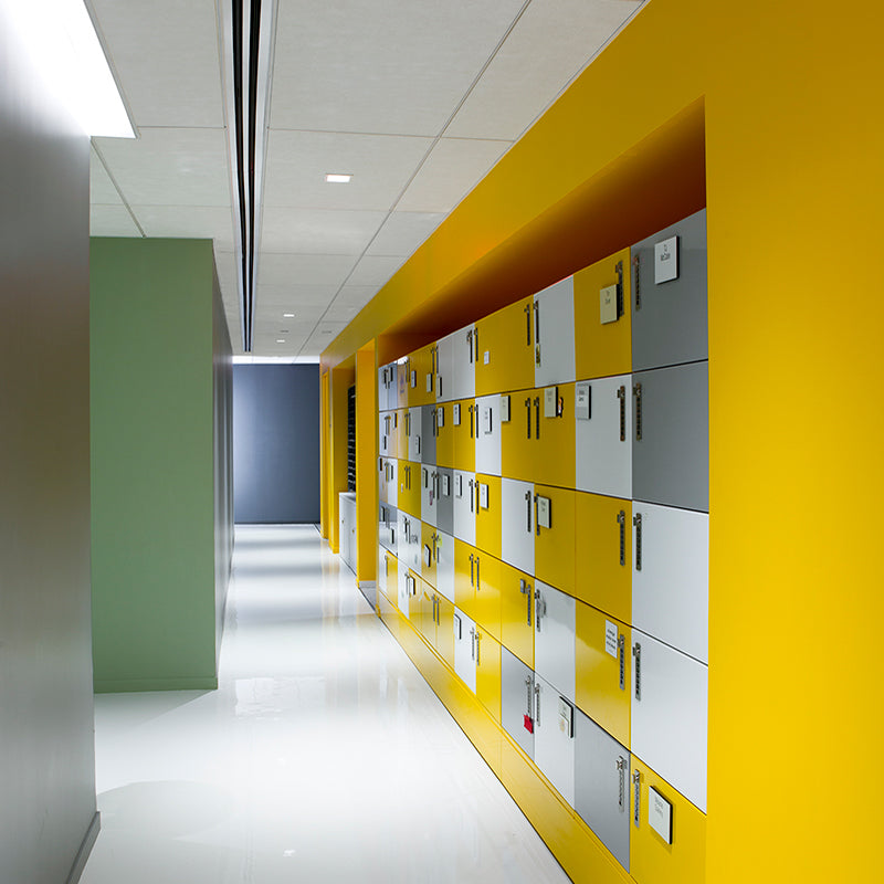Urban Land Institute office lockers