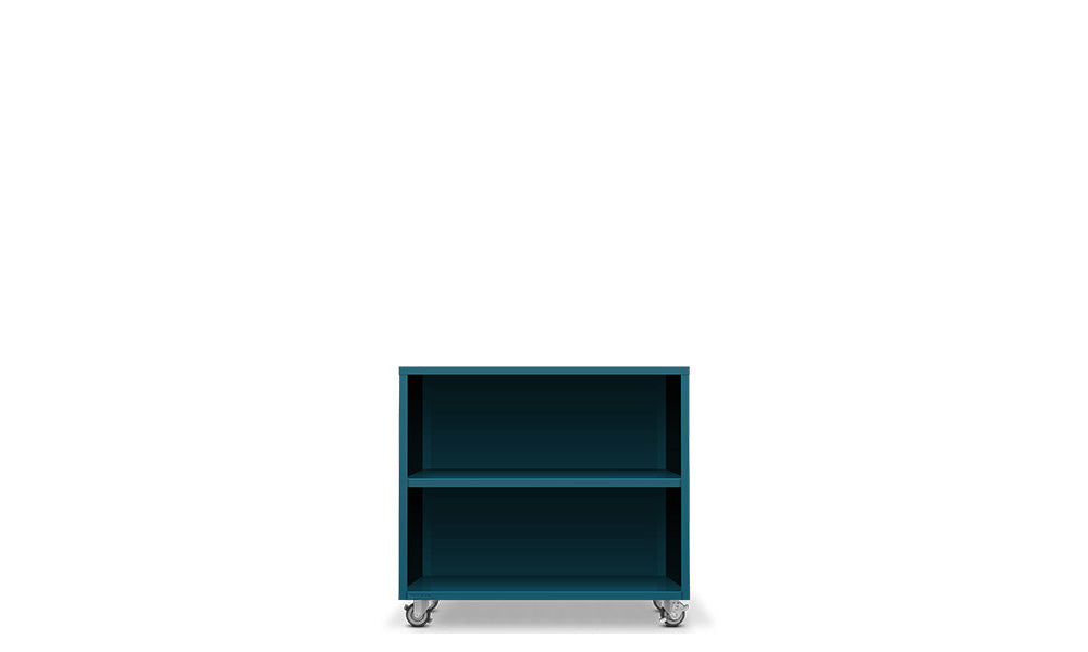 Active Duty Bookcase 2H Closed Back - Heartwork Inc