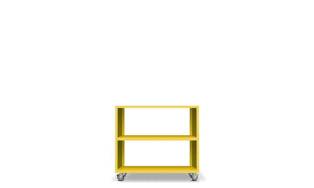 Active Duty Bookcase 2H Open Back - Heartwork Inc
