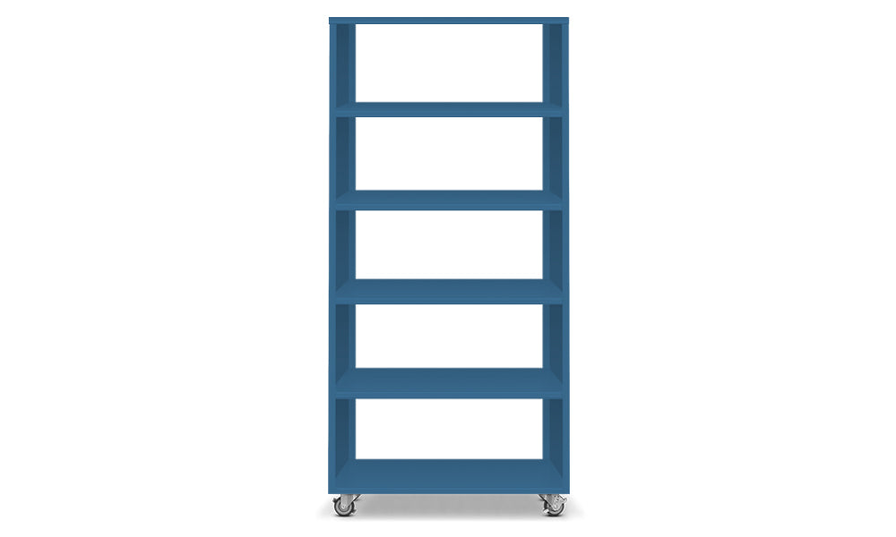 Active Duty Bookcase 5H Open Back - Heartwork Inc