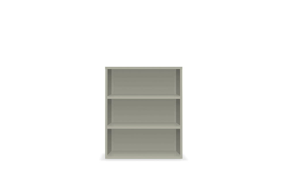 Active Duty Bookcase 3H Closed Back - Heartwork Inc