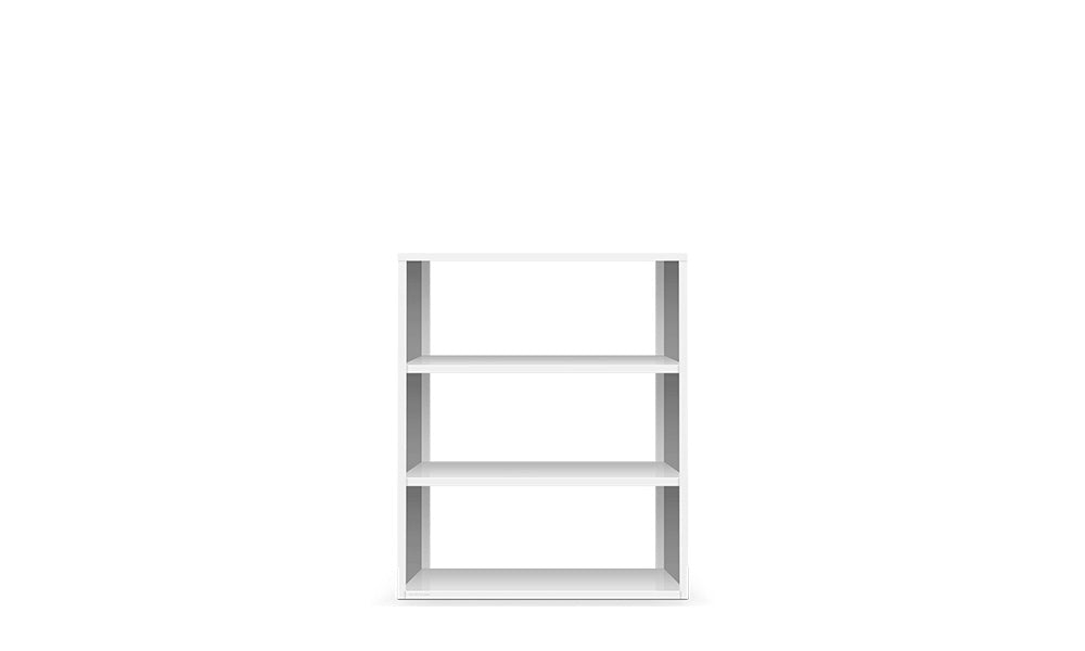 Active Duty Bookcase 3H Open Back - Heartwork Inc