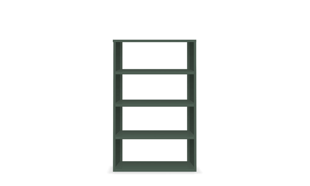 Active Duty Bookcase 4H Open Back - Heartwork Inc