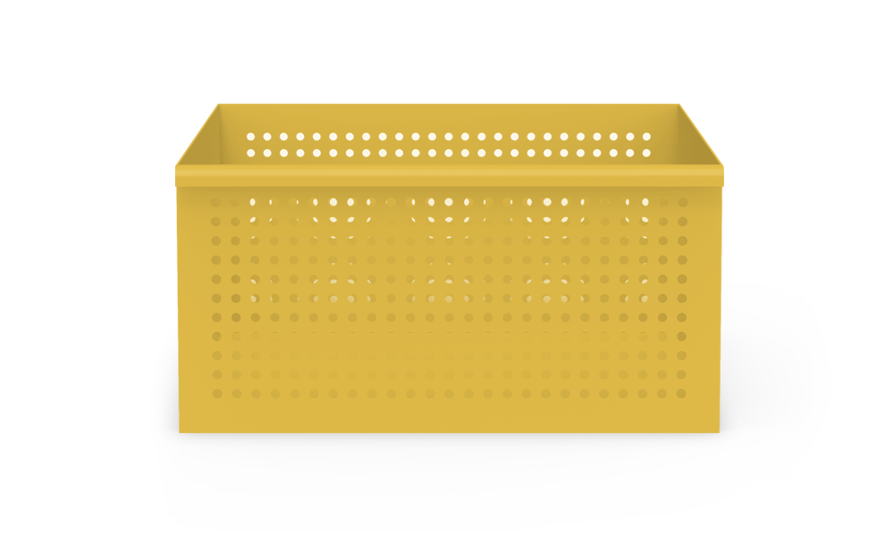 Perforated Basket - Heartwork Inc