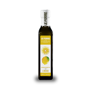 Lemon Flavored 100% Italian Extra Virgin Olive Oil L.0.25 - Italian Market