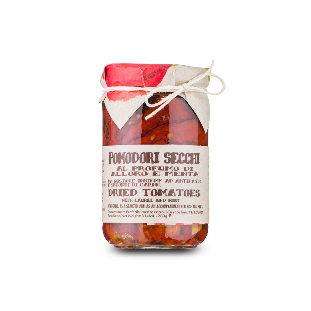 Dried tomatoes, bay leaf and aromatic herbs - 280g