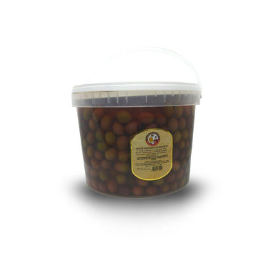 Termite di Bitetto Olives 22mm in Brine Bucket 5 Kg - Italian Market