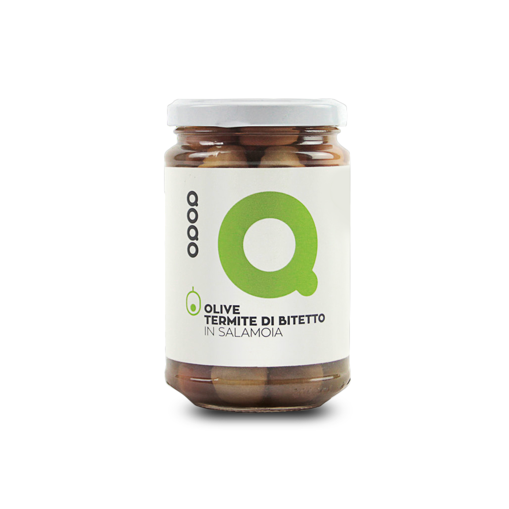 QOQO Thermite Olives Of Bitetto	290 gr - Italian Market