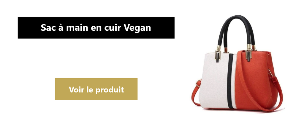 Collections sac à main en cuir Vegan