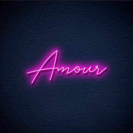 Neon Amour Rose