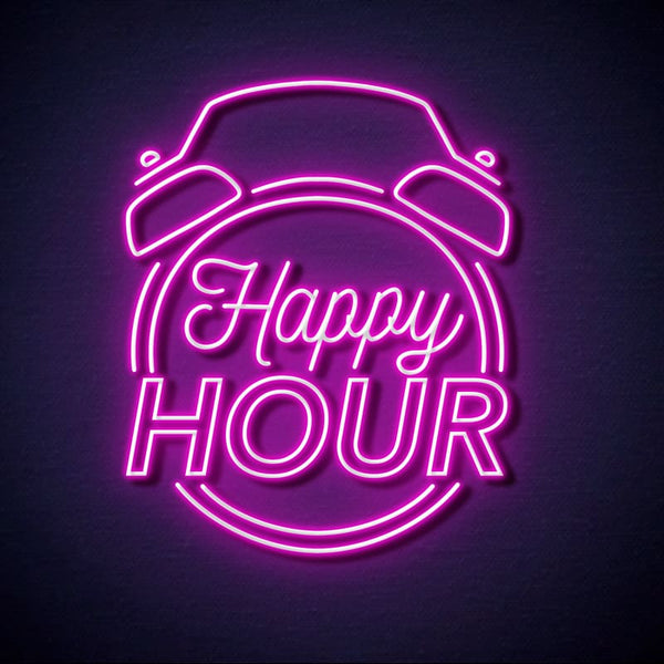 Neon happy hour Rose