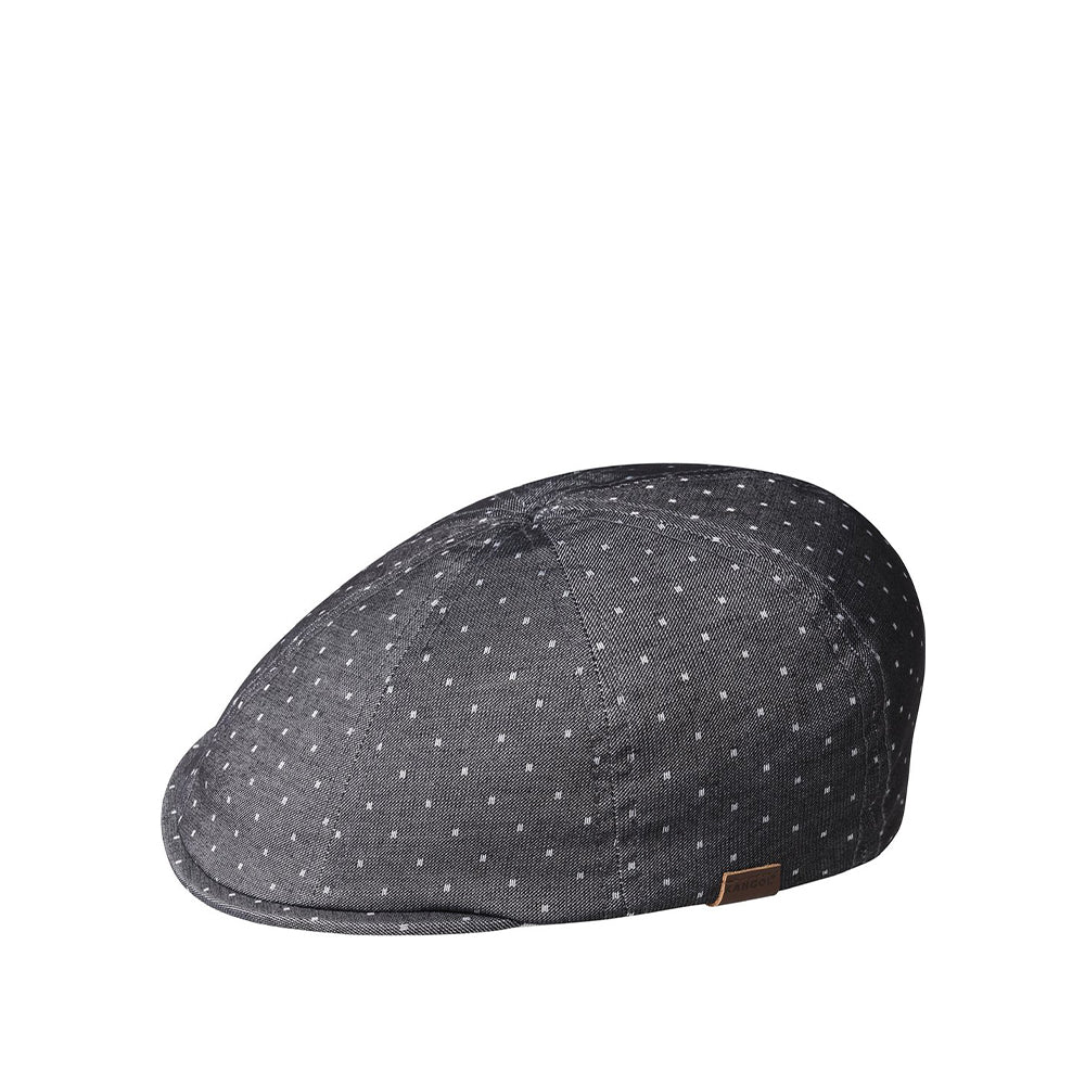 KANGOL K4278HT PATTERN 8 PANEL BLACK