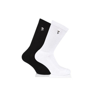 LAGERFELD 96KW6003 SOCKS BLACK & WHITE