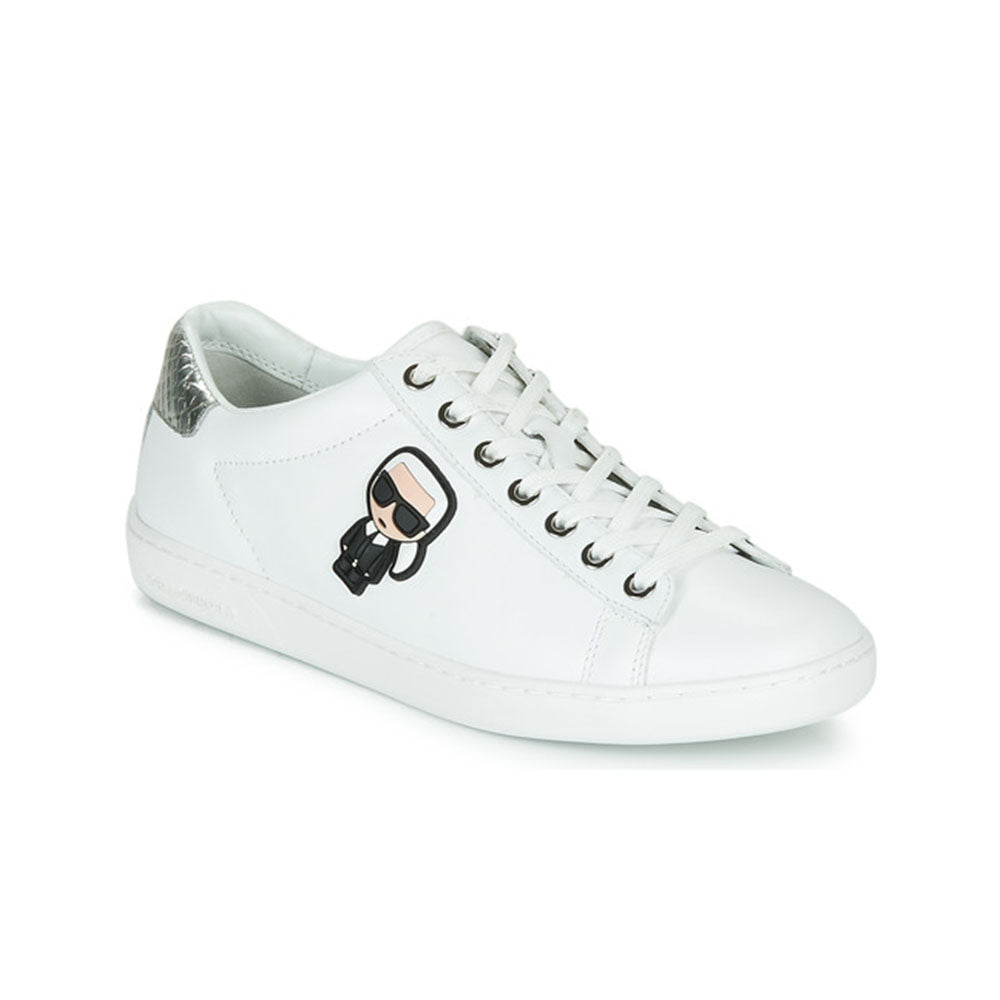 LAGERFELD IKONIC LOW LACE KL612 WHITE