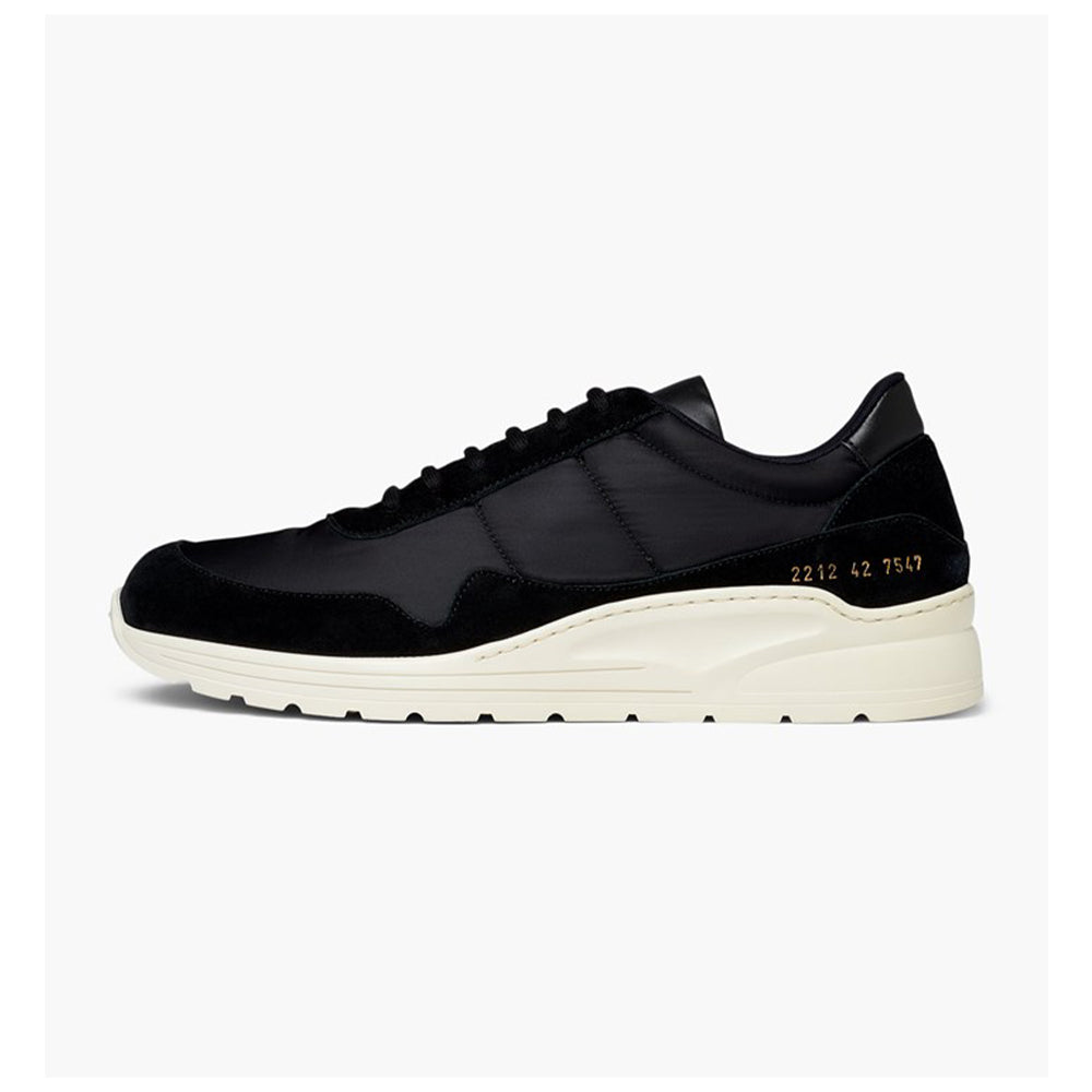 COMMON PROJECTS CROSS TRAINER CONTRAST BLACK