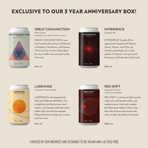 3 YEAR ANNIVERSARY BOX