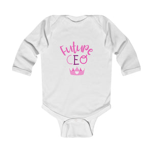 Infant Future CEO Long Sleeve Onesie