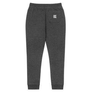 BOSS Luxe Fleece Joggers Charcoal/White