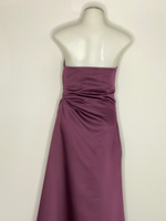 Vera Vang long Strapless Evening Dress SZ 6