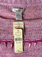 Tommy Bahama Top Calypso Beaded Cotton Knit NWT M
