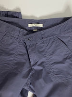 Loft Pants Capris Grey-Blue Runs Big On Size NWT 2