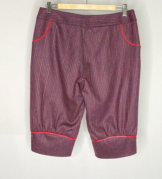 Original Penguin Shorts Lined Burgundy Red NWOT 8