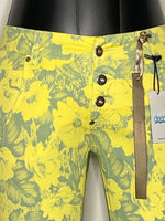 Derin Pants Straight legs Button up Cotton NWT S