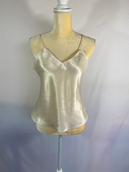 Top Adjustable Shoulder Straps Cream SZ M