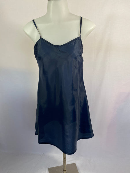 Twenty One Slip/ Night-Dress Blue SZ S