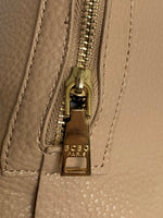 BCBG Paris Hobo Tan Top Zipper Closure