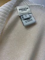 Sample New York White Sweater