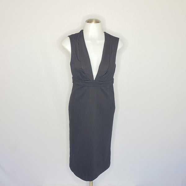 Paige Black Label Dress Black Sleeveless SZ XS