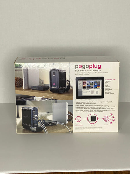 Pogoplug File Sharing Solution POGO-P21 USB 2.0 NWT