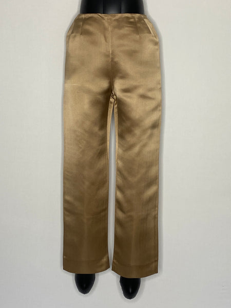 bill blass Bergdorf Goodman Pants Tan Lined 6