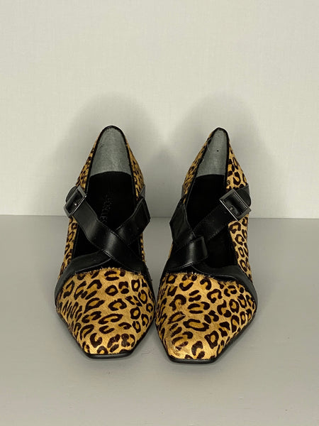 Aerosoles Pump/ Heels Shoes Animal Print Leather 10