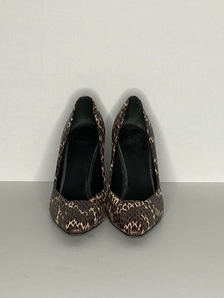 Mugler Pumps/ Heels Shoes Snakeskin 39