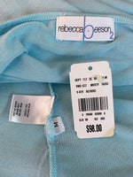 Rebecca Beeson Tank Top Soft-Blue Detailed Rayon M