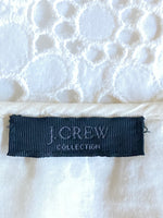 J.Crew Collection Top Lined Cotton White M
