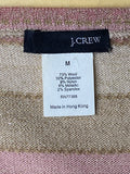 J.Crew Top Spaghetti Strap Earth Tone Colors M