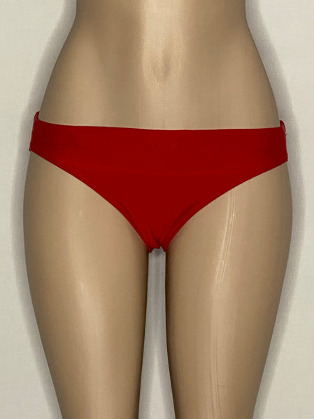 TYR Bikini Bottoms Red Pull Sting Made In USA XS