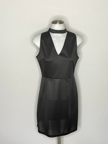 Dress black Above knee length Sleeveless NWOT M