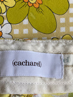 Cacharel Pants Caprice floral Straight Leg Cotton