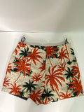 TopShop Skort Floral Back Zipper Closure NWOT 4