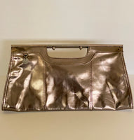 French Connection Clutch Metallic Grey-Bronze
