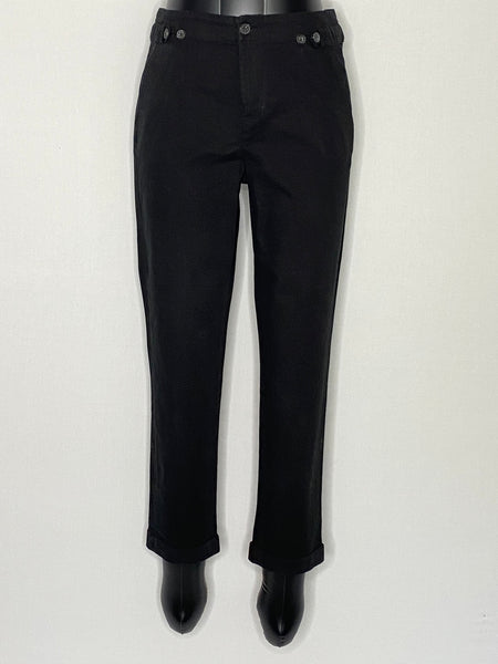 Comptoir Des Cotonniers Pants Black Cotton 40/ US8