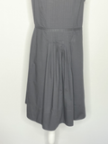 Ann Taylor Loft  Dress Black Spaghetti Straps 10
