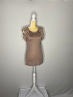 Ann Taylor Loft Tee-Shirt Sleeveless Pleats NWT S