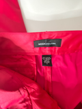 Moda International Pants Hot Pink Satin Look 2